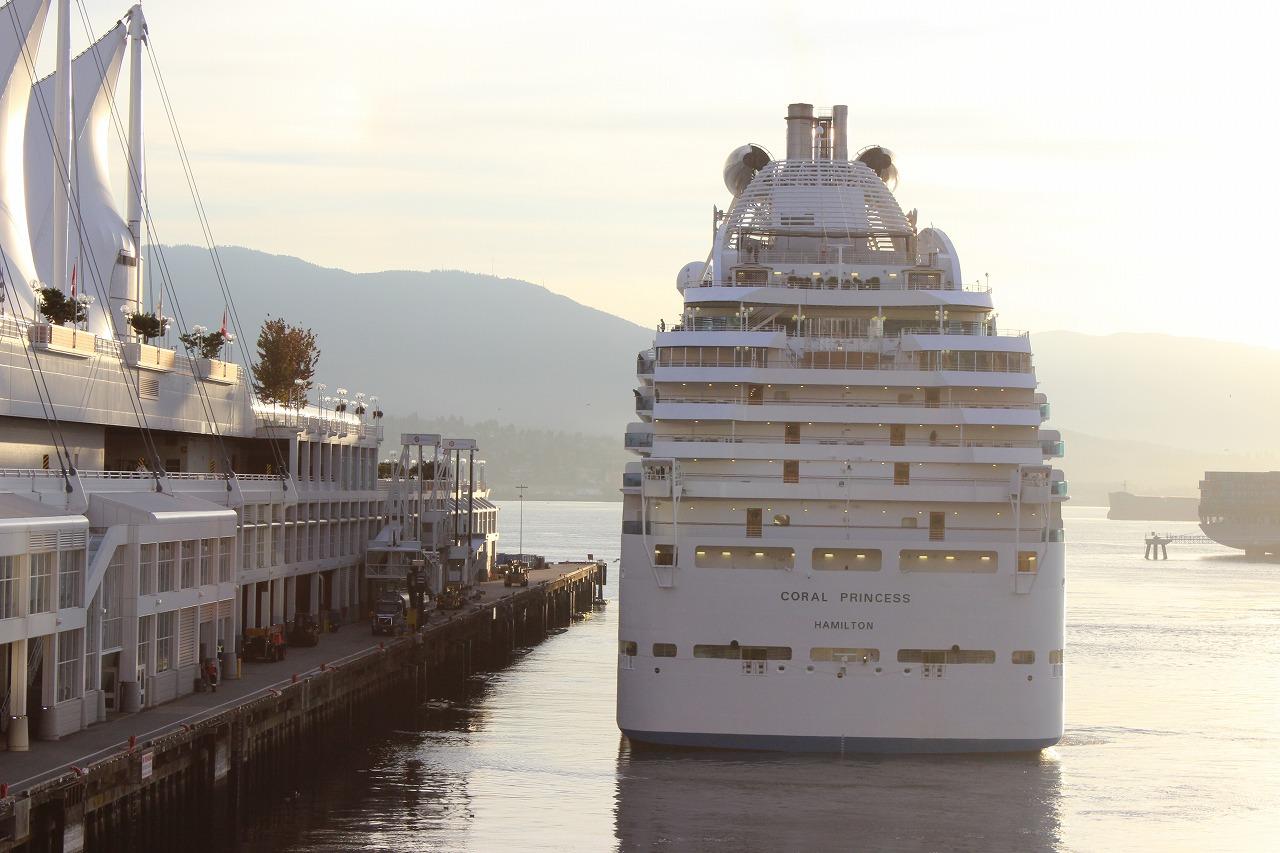 カナダプレイス17…豪華客船