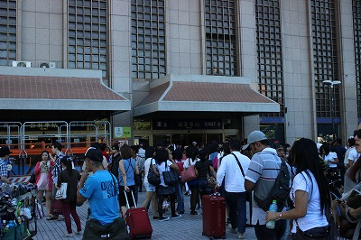 タイペイ光景5 …台北駅