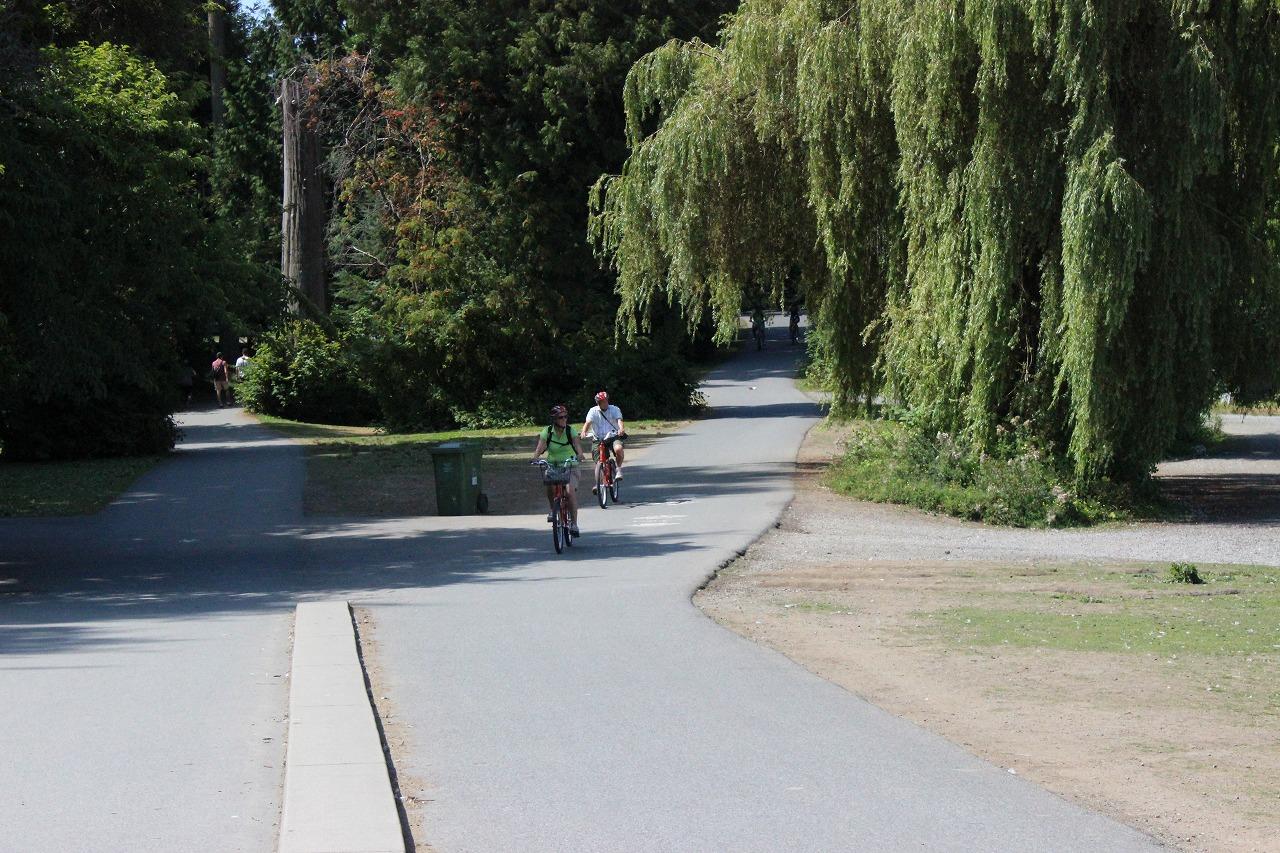 スタンレーパーク 52…自転車道