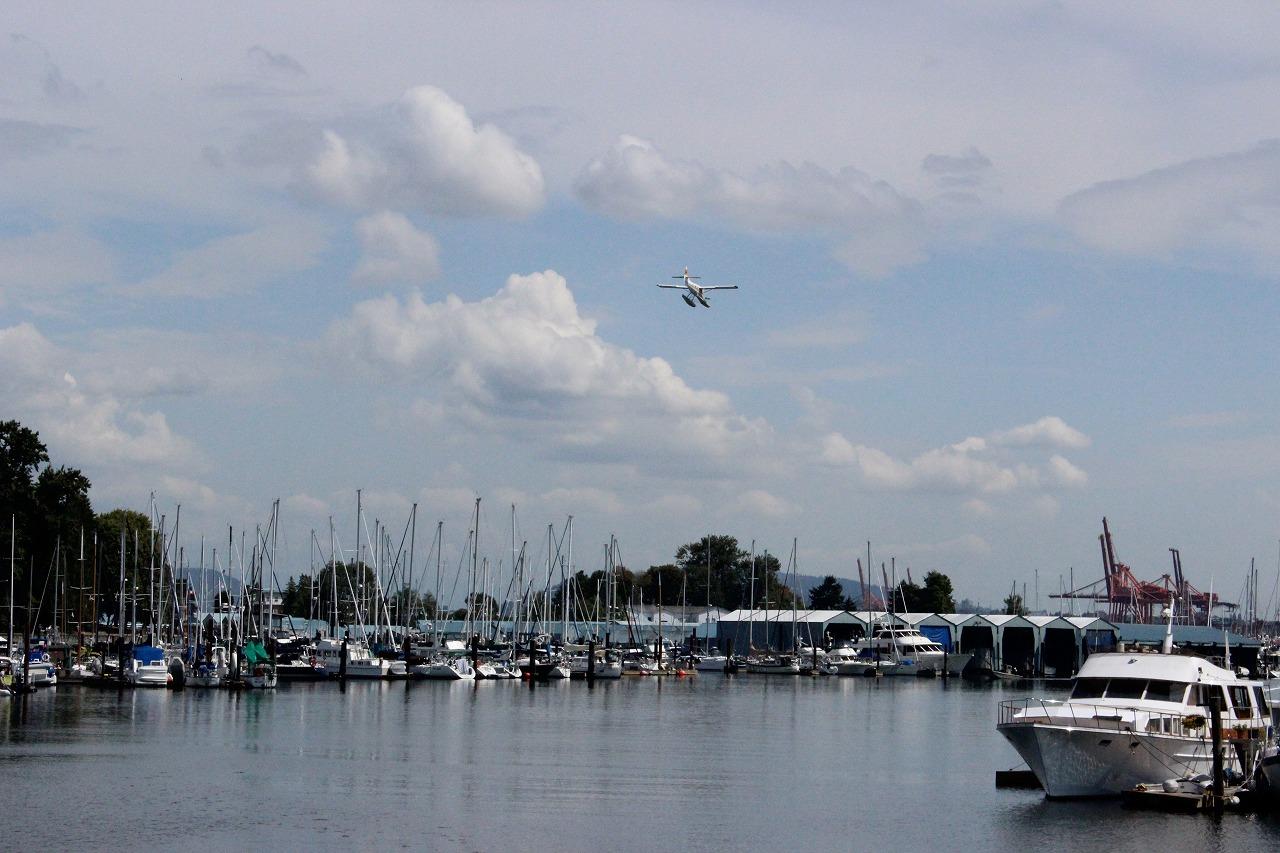 バラード入江32…水上飛行機