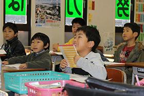 小学生授業風景